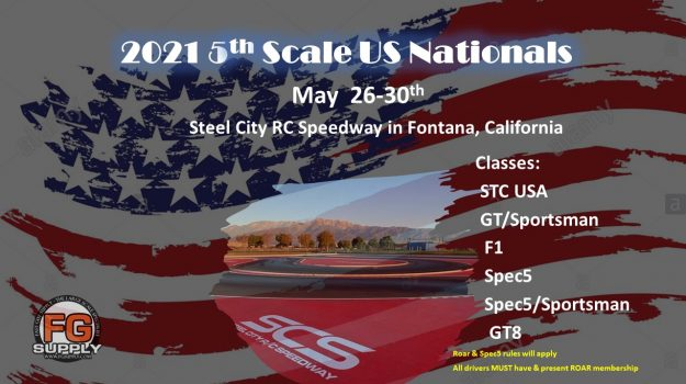 2021 5th Scale USA Nationals flyer